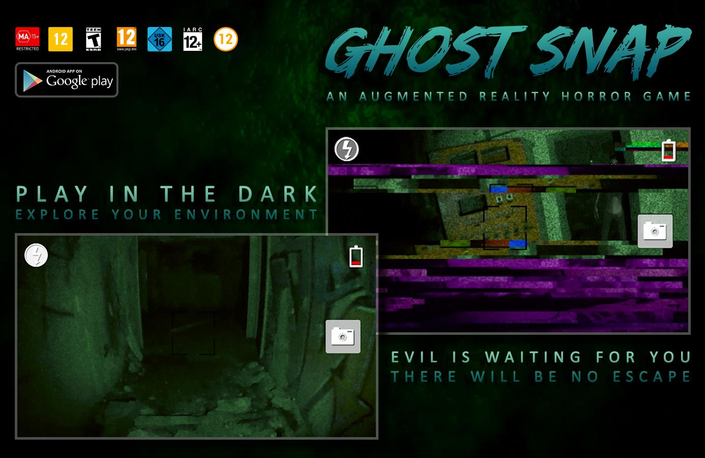 Ghost Snap AR Horror Survival 1 2 3 1 APK Download - Android
