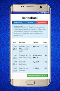 İddaa Tahminleri - BankoBank 2.5 screenshot 2