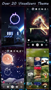 S+ Music Player 3D - Equalizer, Visualizer, Themes 1.4.3 screenshot 11