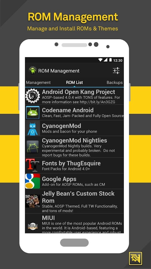 ROM Toolbox Lite 6 5 3 0 APK Download - Android Tools Apps