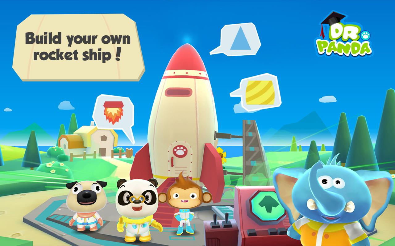 Dr  Panda in Space 1 1 APK Download - Android Simulation Games