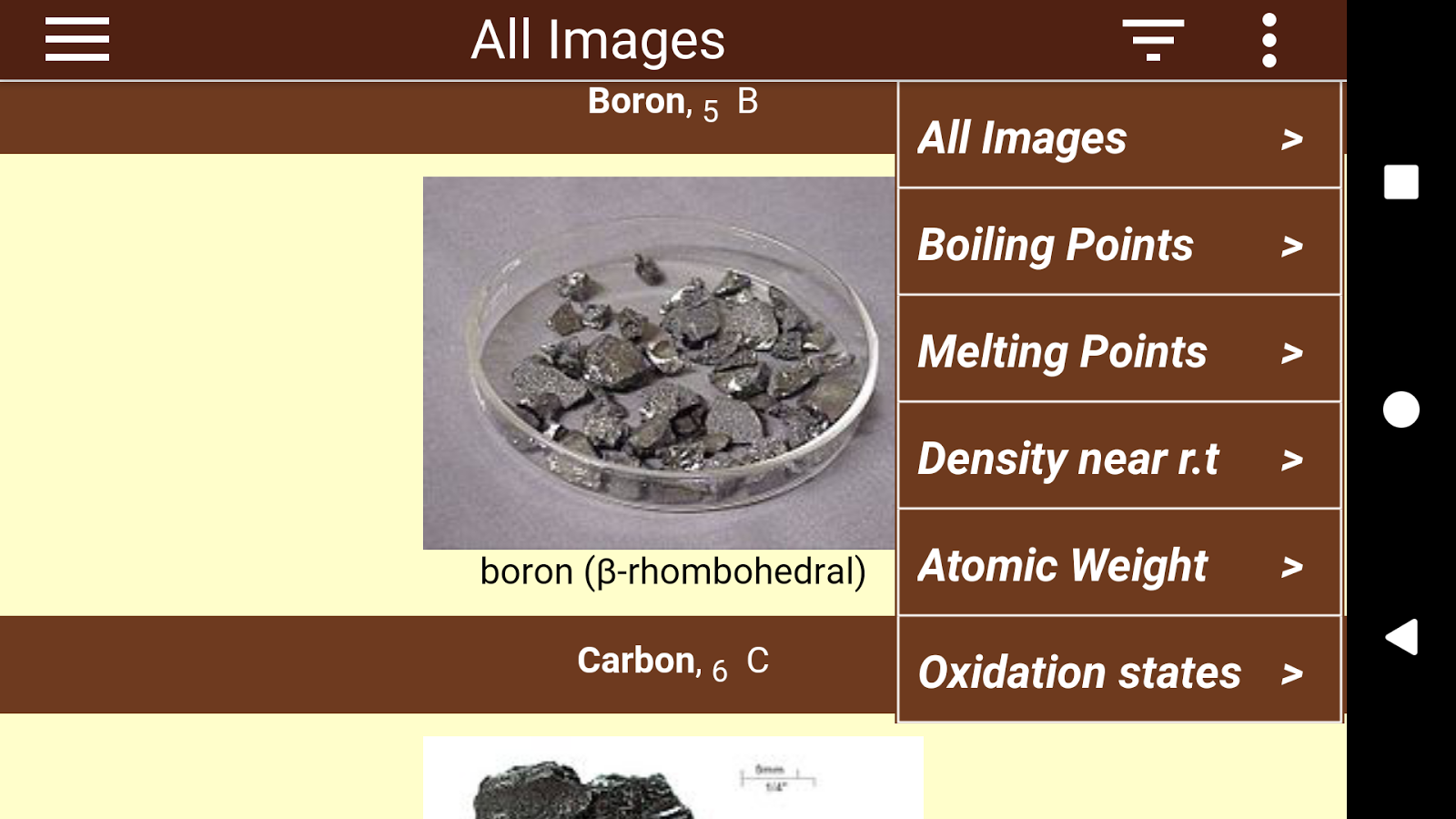 Periodic table 103 apk download android education apps periodic table 103 screenshot 5 urtaz Image collections