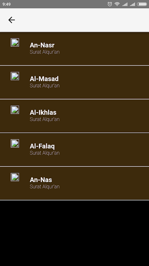 Mp3 Al Quran Dan Terjemahan 6 10 Apk Download Android