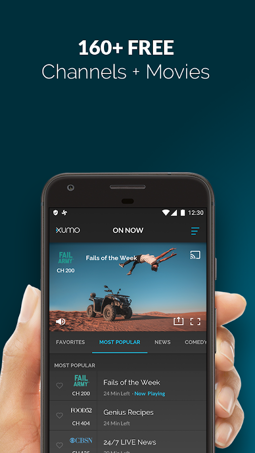 XUMO: Free Streaming TV Shows and Movies 2 7 32 APK Download