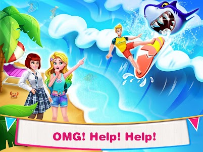 Mermaid Secrets4-  Mermaid Princess Rescue Story 1.5 screenshot 1