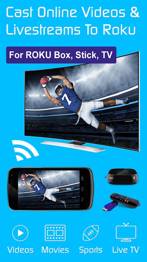 Video & TV Cast + Roku Remote & Movie Stream App 2 15 APK