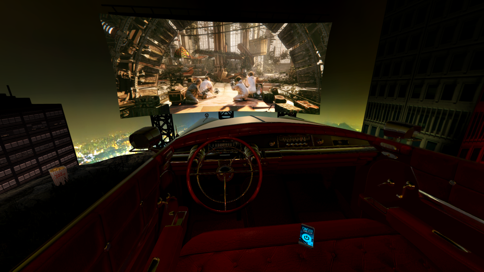 3352dadb5f 1960 Drive-in Theater - CINEVEO - VR Cinema Player 1.9.5 screenshot 1 ...