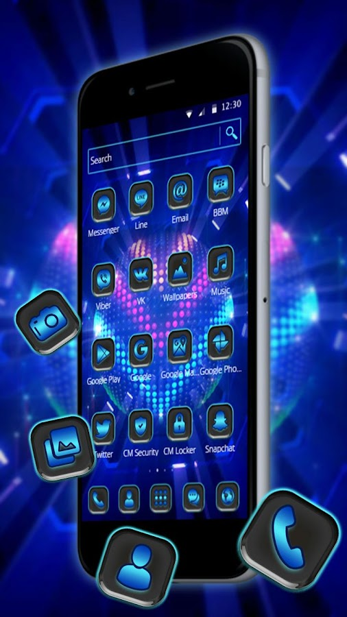 Bright Led Lights 2d Android Theme Wallpaper 113 Apk