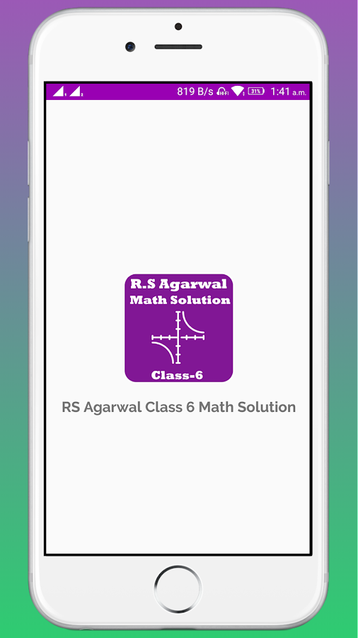 rs aggarwal class 6 math book solution 1 1 apk download android