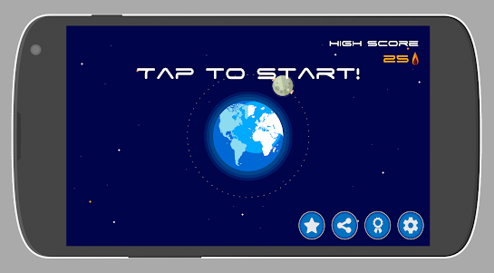 Asteroid Defense 1.0.0 screenshot 1