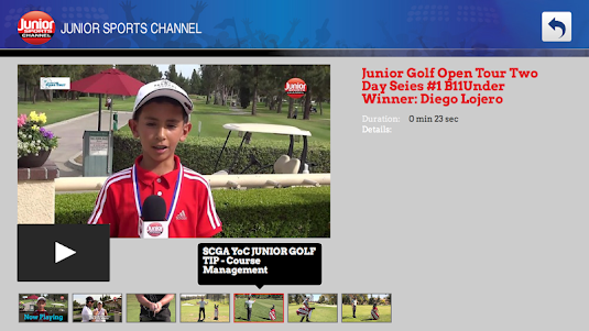 Junior Sports Channel 1.0 screenshot 2