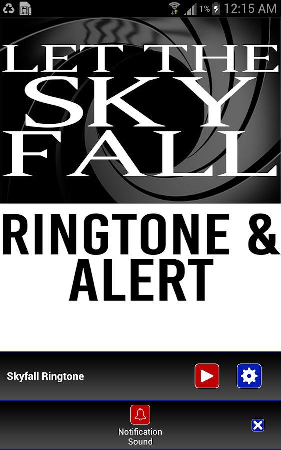 Let The Skyfall Ringtone 12 Apk Download Android Music Audio Apps