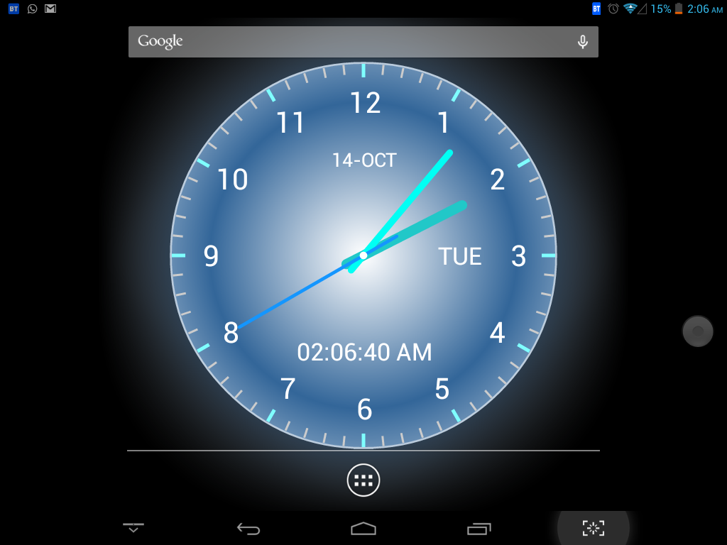 Adi AnalogClock Live Wallpaper 1.10 APK Download  Android