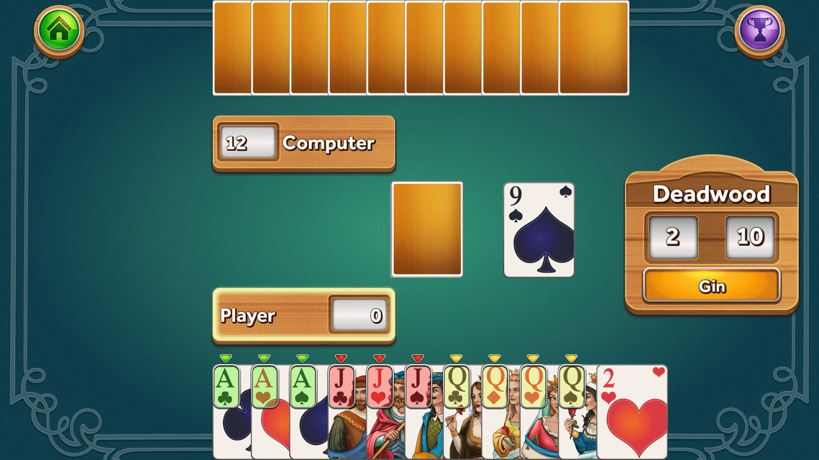 Gin Rummy Deluxe 13 Apk Download Android Card Games