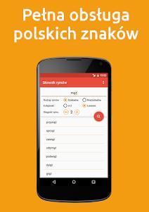 Słownik Rymów PRO 3.1 screenshot 1