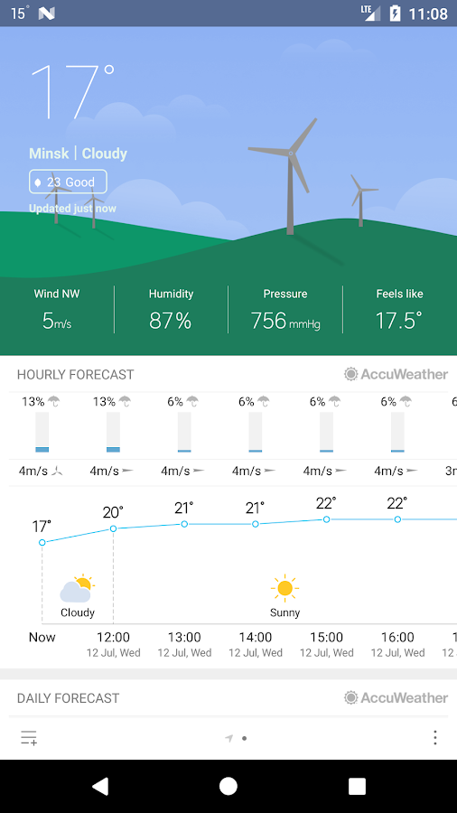 pro burgerz miweather8 1 5 0 APK Download - Android Weather Apps