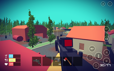 Pixel Day - Unturned Z 1.03 screenshot 3
