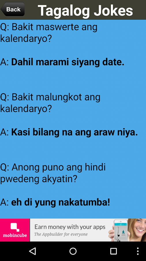 Pinoy Pick Up Lines & Jokes 6 0 0 APK Download - Android