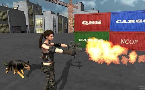 Secret Agent Lara Croft 2 : Front Line Commando 1.0.9 screenshot 4