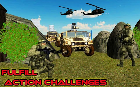 Shoot Hunter 3D: Commando Missions Hostage Rescue 1.3 screenshot 6
