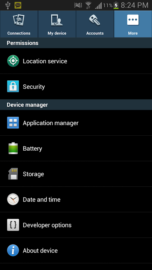 GalaxyS4 Settings for Froyo~JB 1 4 1 2 APK Download - Android