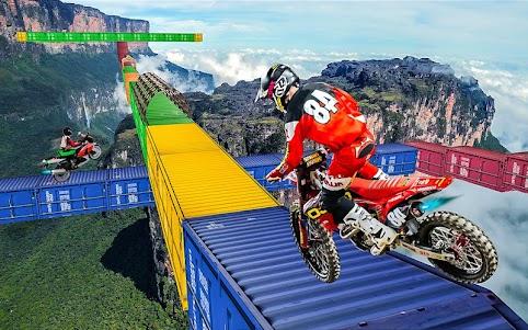 Tricky Bike Crazy Stunt Rider 1.0 screenshot 4