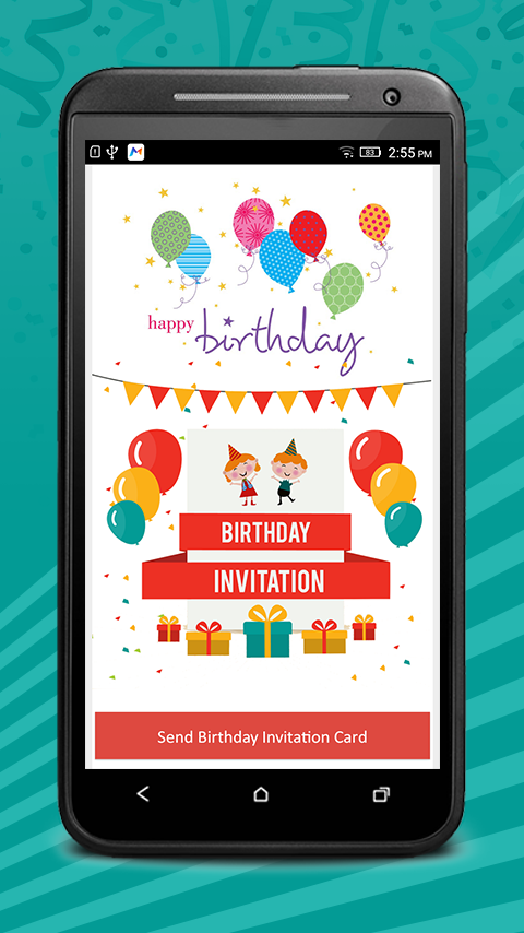 Birthday Invitation Cards Pro 1 1 Apk Download Android