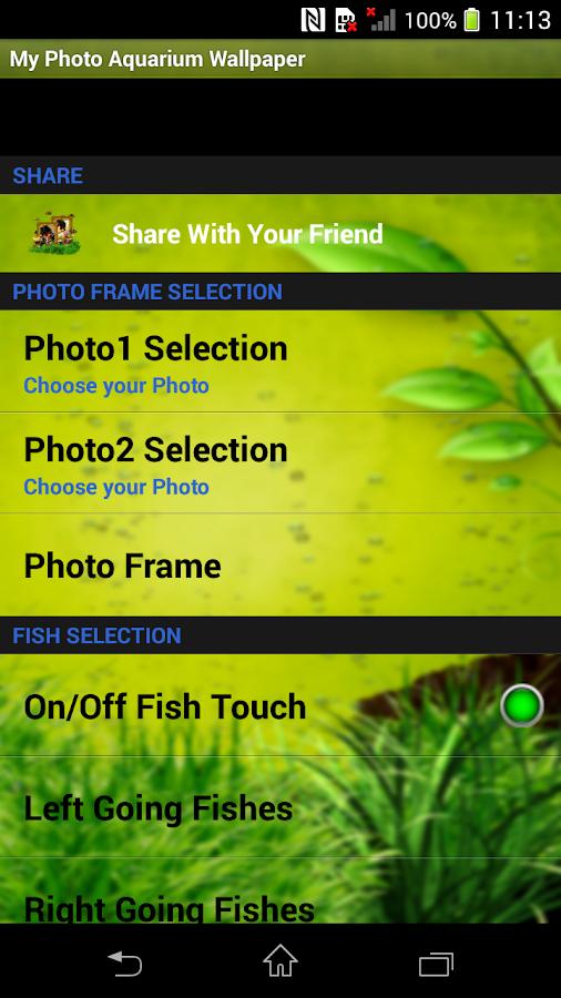 My Photo Aquarium Wallpaper 30 Apk Download Android Entertainment