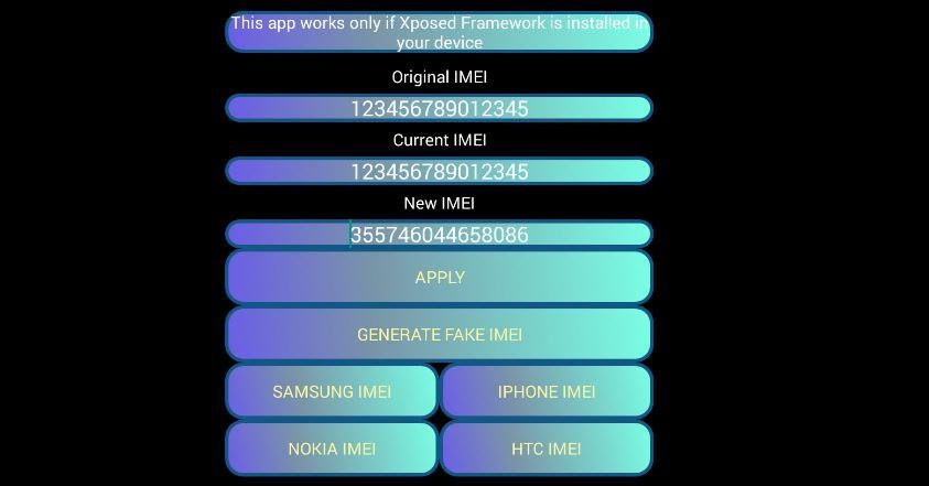 imei changer software for android
