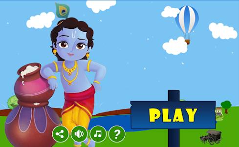 Little Krishna Run - Adventure 1.1 screenshot 1