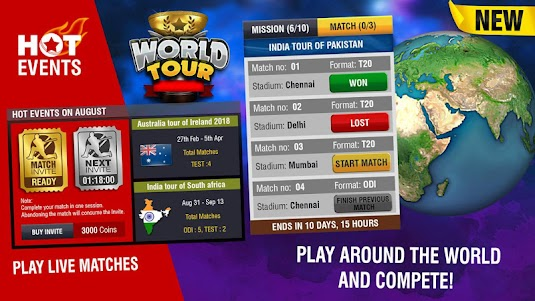 World Cricket Championship 2 2.8.3.1 screenshot 11