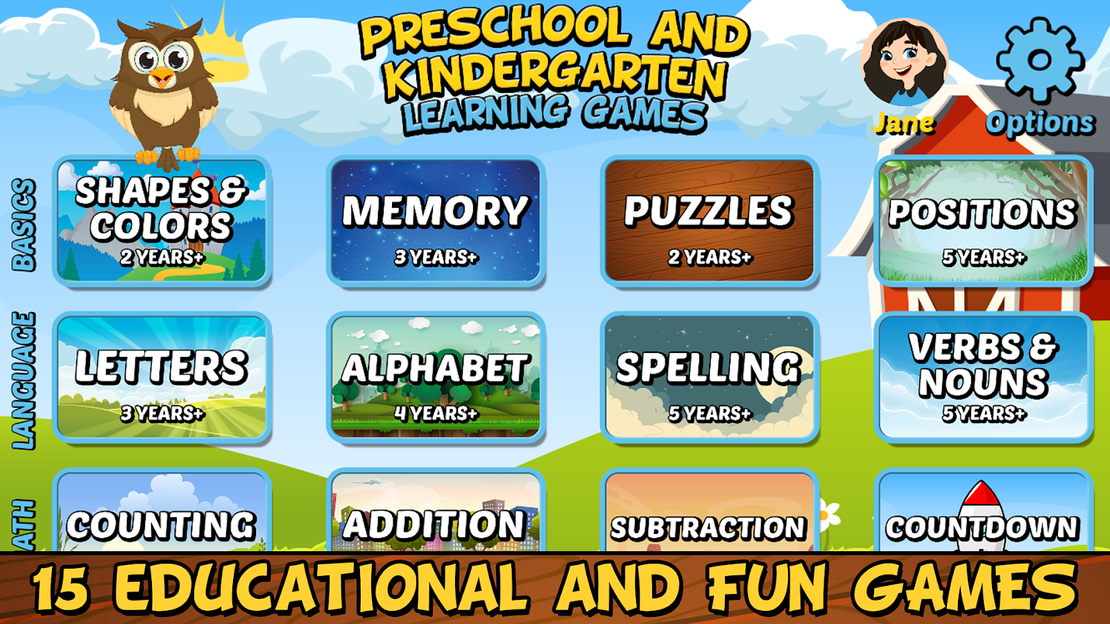 Preschool and Kindergarten Learning Games 4.7 APK Download - Android ...