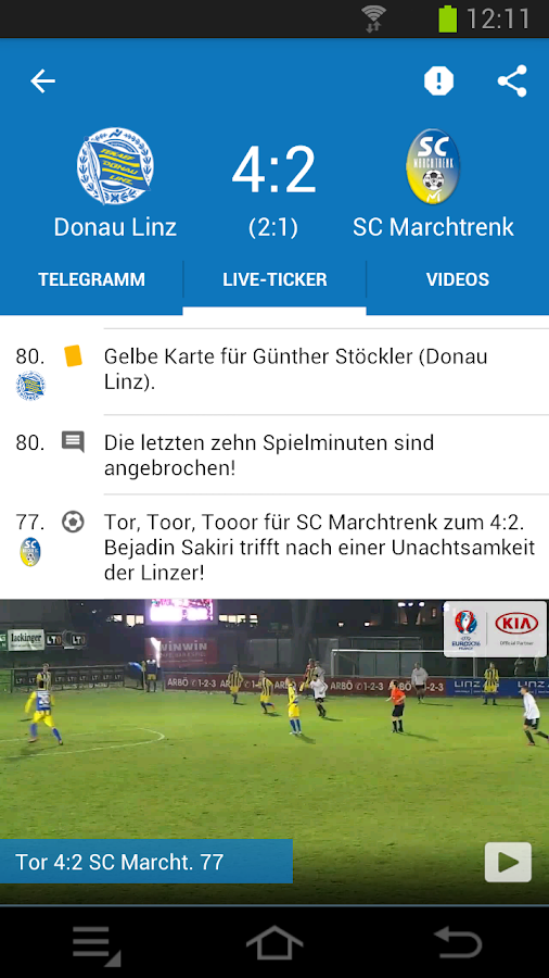 Ligaportal Fussball Live Ticker Apk Download Android Sports