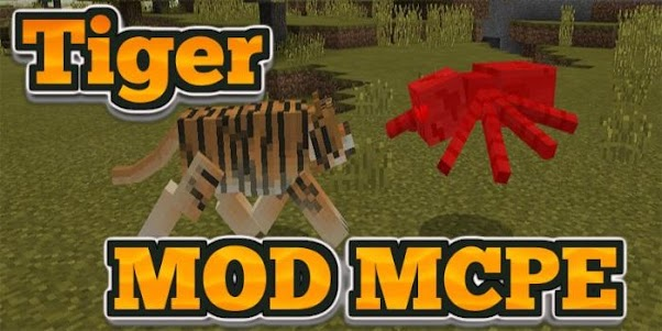 Tiger MOD MCPE 4.0 screenshot 6