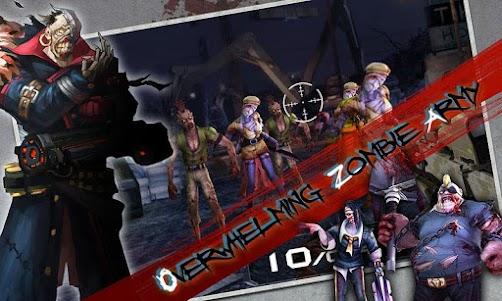 Blood Zombies HD 1.0.9 screenshot 13