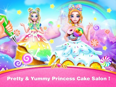 Queen Cakes Maker- Princess Cake Baking Salon 1.0 screenshot 1