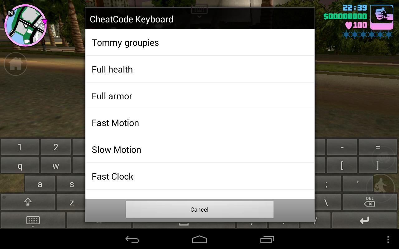 Gta san andreas android cheat code app | Cheat Code for GTA