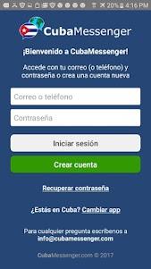CubaMessenger 8.3 screenshot 1