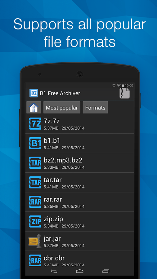 zip extractor for android apk