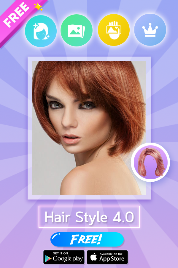 Hair Color Changer Wigs 1094 Apk Download Android Photography Apps