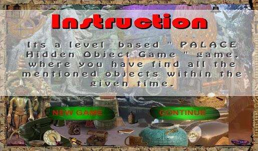 Palace Hidden Object Game 1 screenshot 10
