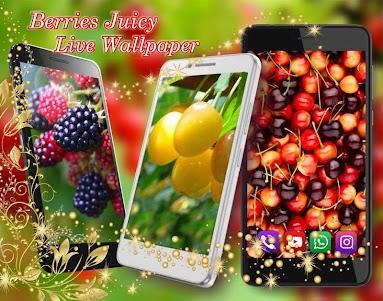 Berries Juicy Live Wallpaper 1.2 screenshot 1
