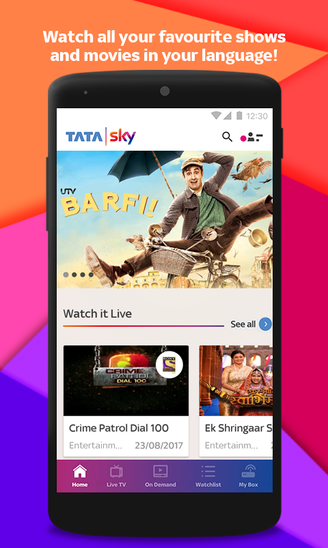 Tata Sky Mobile- Live TV, Movies, Sports, Recharge 9 7 APK