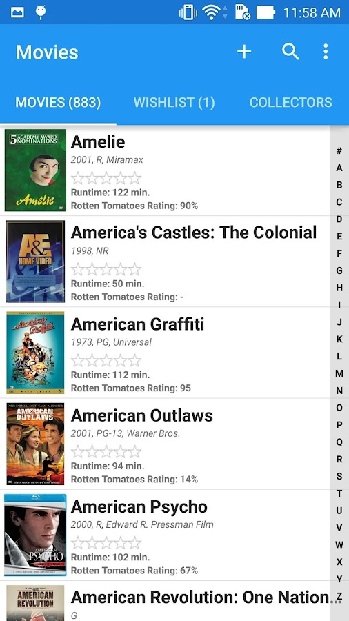 Movie Manager Collector 4K Blu-ray DVD UPC Library 3 1 APK Download
