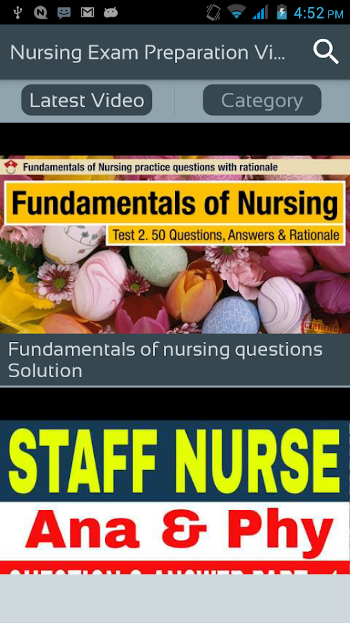 Nursing Exam Preparation Video - Question & Answer 1 0 APK