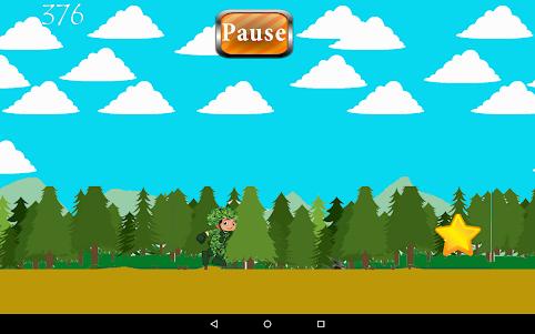 Cute Commando in The Forest 1.0 screenshot 8