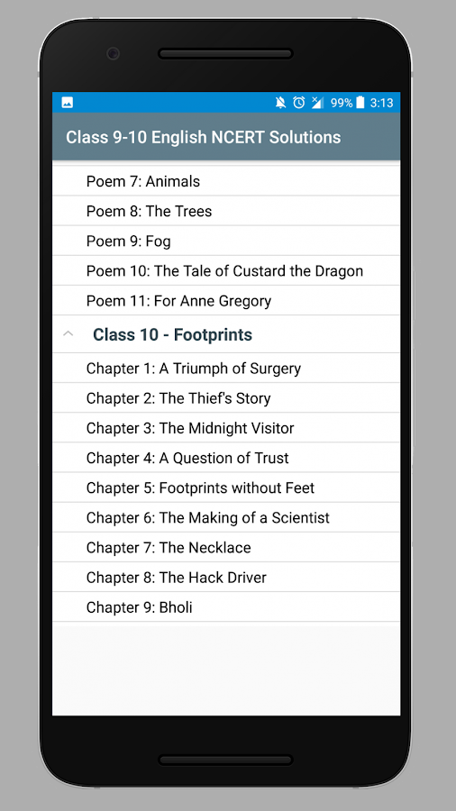 Class 9-10 English NCERT Solutions 1 0 APK Download - Android