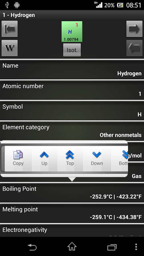 Best periodic table free 23 apk download android books best periodic table free 23 screenshot 6 urtaz Image collections