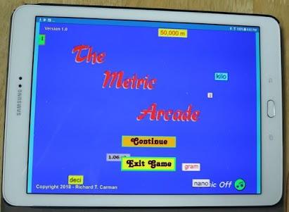 The Metric Arcade 1.0 screenshot 8