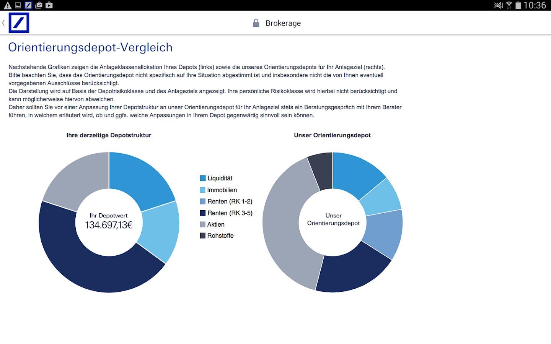 H deutsche bank brokerage